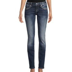 Miss Me Signature Straight Embellished Jeans